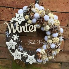 All Things Christmas, White Christmas, Christmas Wreaths, Xmas, Grapevine Wreath, Burlap Wreath, Winter Time, Grape Vines, Advent