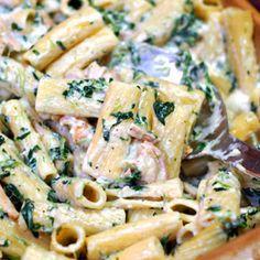 Grilled Chicken Rigatoni Florentine1