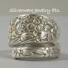 ASA flower in a spoon ring! Do want!