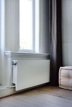De Sentimo is net zo mooi wit als de muur erachter. Hierdoor valt de radiator helemaal niet meer op en kan alle aandacht gaan naar het prachtige interieur!