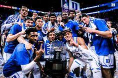 Acc champs of 2019 Basketball Posters, Basketball Coach, Coach K, Duke Blue Devils, Duke University, Dream Team, Cute Guys, The Twenties, Champion