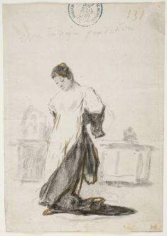 Goya en El Prado: Esta lo deja pensativa