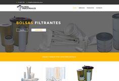Diseño web Filtros Industriales