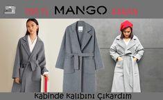 J'ai cousu un manteau mango 700 TL - Выкройки - Couture Costume Patterns, Coat Patterns, Dress Sewing Patterns, Fashion Design Sketches, Fashion Sewing, Vest Jacket, Sewing Tutorials, Mantel, Winter Fashion