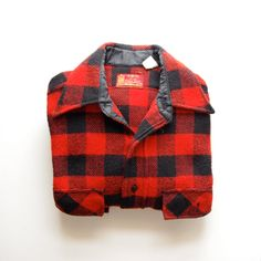 Vintage Sears Flannel Shirt - Mens M - Red and Black - Fathers Day Cool Phrases, Black Fathers, Mens Flannel Shirt, Man Style, My Man, Button Up Shirts, Vintage Outfits, Daddy, Men's Fashion