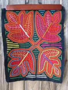 PANAMA Vintage Mola... by Kuna people of San by HeritageAndHeart