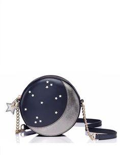 b44bf9c2fa5 Kate Spade New York Lido Ave Micha Moon   Stars Crossbody New York Logo