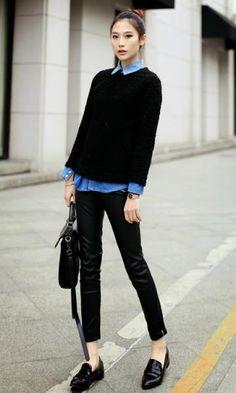 mocassim feminino street style - Pesquisa Google