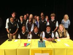 Hi-Q Academic Competition at St. Luke High School in Mobile, Alabama