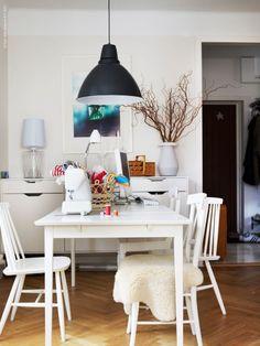 DIY cupboard made from IKEA kitchen furniture