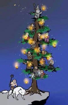 It's a hobbit tree