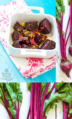 Citrus Coconut Roasted Beets | FamilyFreshCooking.com