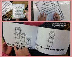 Ideas for fluency building in Kindergarten, and a FREE emergent reader and fluency passages!