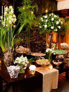 Mesa de doces Casamentos Mini Wedding