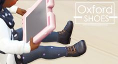 Oxfords for Toddlers at Onyx Sims • Sims 4 Updates