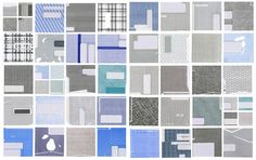 Envelope grids. A good eye sees art in the mundane and readily available.