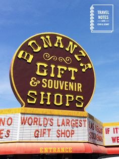 Travel Notes Podcast #1 - Las Vegas - Bonanza World's Largest Crap... I mean Gift Shop