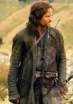 The Ranger with all his scruffiness. Viggo Mortensen in the Fellowship of the Ring. #lotr #tolkien