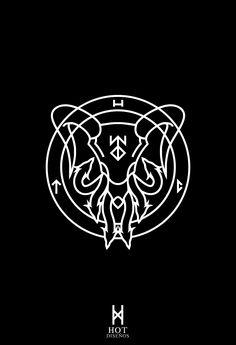 Hail Zhaitan | Hot Diseños - pentagram guild wars 2 gothic minimal minimalist minimalism simple metal black logo symbol logotype graphic design witch deathcore hardcore metal grindcore deathmetal blackmetal death satanic occult occultism occultist ilustracion illustration draw
