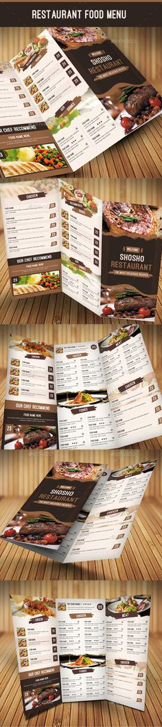 Restaurant Food Menu Template #design Download: http://graphicriver.net/item/restaurant-food-menu/10938543?ref=ksioks