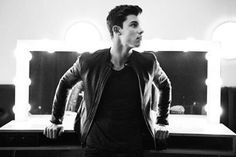 Don't you just love a Shawn in leather jackets