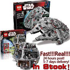 LEPIN STAR WARS 05035 05033 Millennium Falcon Death Spaceship War Building Bricks Blocks Set legoe Starwars Chrismas Toys Price: USD 135 | United States