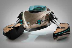 Barco de lujo convertible Kormaran   Cosas Para Tios #ship #lujo #barco #luxury