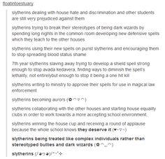 harry potter - slytherins