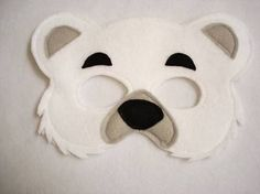 polar bear mask - Google Search