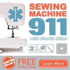 Central Coast Couponista: Learn to Sew & Use Your Sewing Machine with Craftsy's FREE Online Class!