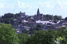 Vue générale de la ville de Clermont