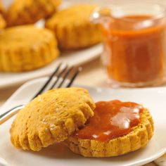 Pumpkin Maple Biscuits -  This recipe uses non-perishable ingredients including instant dry milk powder.  Non-Perishable ingredients include: All-Purpose baking mix (Bisquick), instant dry milk powder, brown sugar, canned pumpkin, maple syrup, ground cinnamon and pumpkin pie spice.