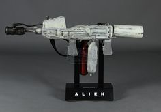ALIEN (1979) - Ripley's (Sigourney Weaver) Flamethrower.