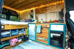 Beautiful RV Camper Does Van Life Remodel Inspire You. You're likely to have to do something similar for van life also. Van life lets you be spontaneous. Van life will consistently motivate you to carry on. Camper Storage, Diy Camper, Camper Life, Rv Campers, Trailer Storage, Camper Hacks, Rv Trailer, Truck Camper, Luxury Campers