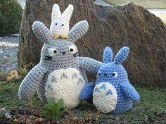 Totoro Azul Amigurumi : Oh totoro Амигуруми totoro amigurumi and crochet
