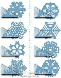 Paper SNOWFLAKE cutting Tutorial