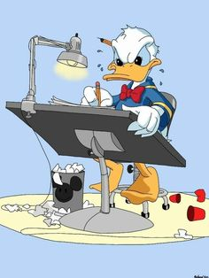 Donald Duck by on DeviantArt