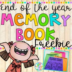 This is a FREE SAMPLE of my differentiated End of the Year Memory Book! This sample book includes: My Self-Portrait My Favorite Memory from this school year