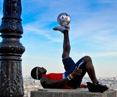 Soccer is all about balance... NOT!