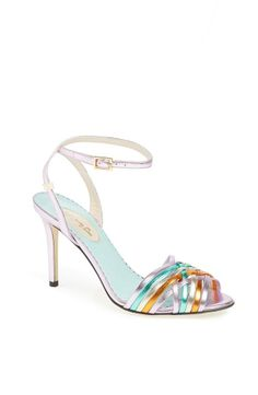 """Maud is the perfect shoe for a special dinner out at a restaurant like Gradisca.  Fun, flirty and goes with anything.  The colors demand to be seen and the shoe is longing for an adventure."" - SJP  