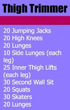 No way.especially with this thigh trimmer workout you can do anywhere - Do this simple 2 minute ritual to lose 1 pound of belly fat every 72 hours Fitness Diet, Fitness Motivation, Health Fitness, Dance Motivation, Fitness Legs, Fitness Inspiration, Pilates, Wednesday Workout, Lose Fat Fast