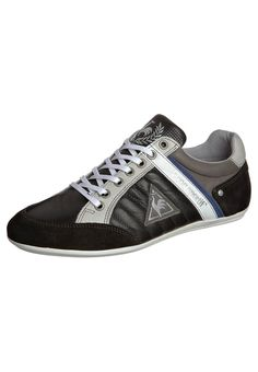 Le Coq Sportif black shoes | le coq sportif AUXERRE LOW - Trainers - black - Zalando.co.uk