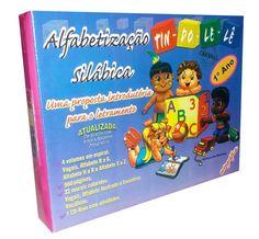 Coleção Alfabetização Silábica TIN DO LÊ LÊ 1º Ano - ISBN 8589305635