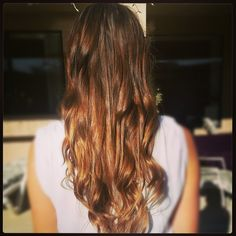 Natural Ombre Hair- 3% 2(OH), lemon juice, baking soda & water.  Sun optional :).