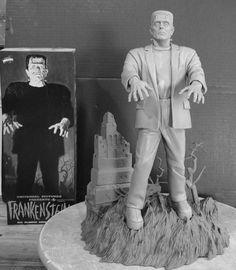 Frankenstein - The recently released Frankenstein model designed to match Bama's artwork on the 1961 Aurora kit