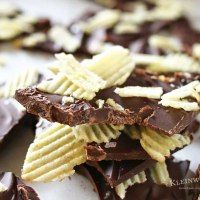 If you are a lover of salty & sweet then this Potato Chip Bark is your perfect easy dessert recipe. Chocolate & potato chips make a tasty treat.