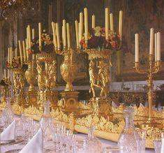 Surtout de Table by Pierre Philippe Thomire gilt bronze