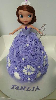 Sofia the first Birthday Cake Dolly Varden