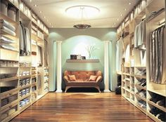 "For the love of closets!  ""Any closet is a walk-in closet if you try hard enough."" - Steve Connelly  Walk-in closet have always been a luxury symbol and statement. Apart from being a functional room, a closet can also be a stylish addition to your home, with a roomy and exquisite décor. It is important that they offer good space and storage, so all your clothes and accessories are organized and easily accessible.  Here are some beautiful walk-in closets with different styles to get you…"