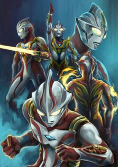 Organic armor O Godzilla, Ultraman Tiga, Character Art, Character Design, Japanese Superheroes, Space Hero, Cosmic Art, Anime Version, Mecha Anime